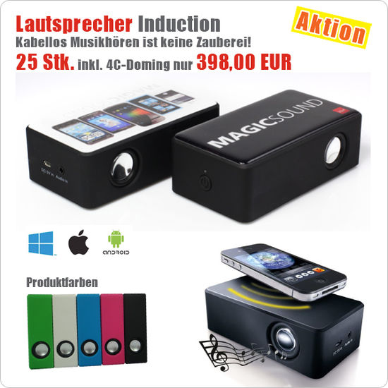 Aktion - Lautsprecher Induction