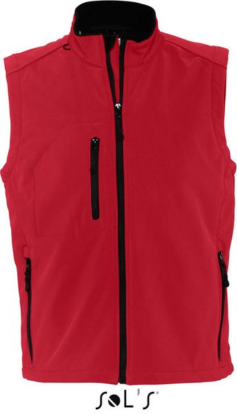 Bodywarmer Mens Sleeveless Softshell Rallye